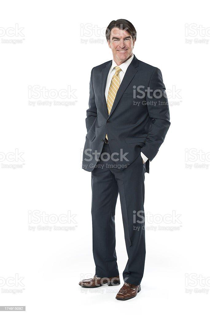 Friendly Businessman royalty-free stock photo