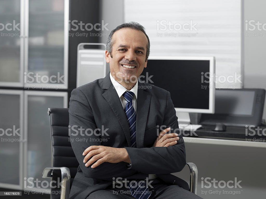 Friendly Businessman Stock Photo More Pictures Of Adult
