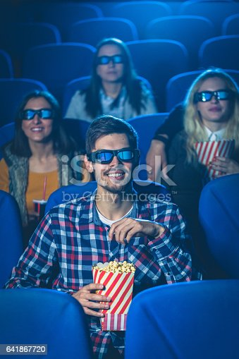 187095683 istock photo Friendly cinema time 641867720