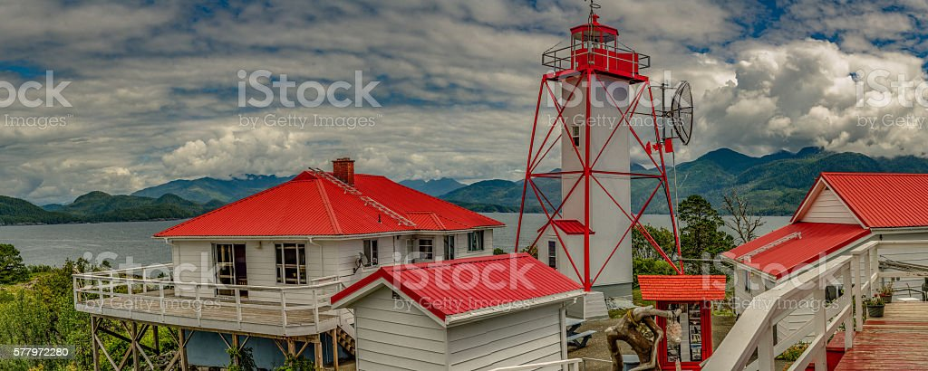 Friendly Cove, BC, Vancouver Island, Canada stock photo