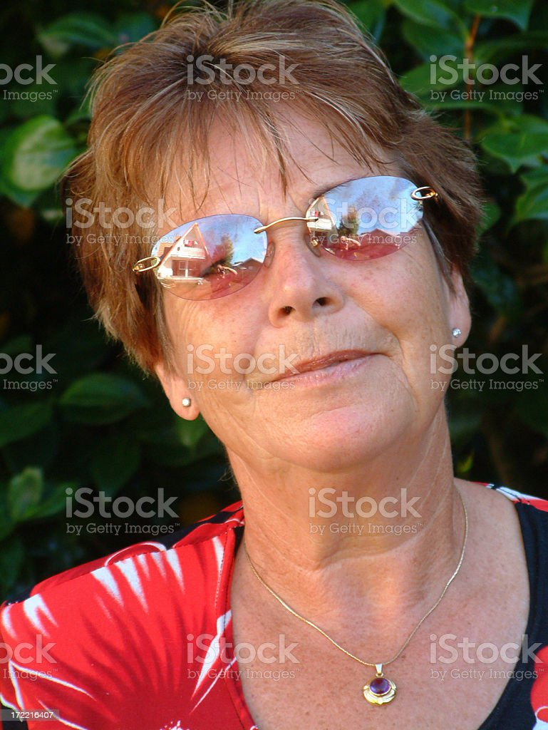 Friendly Lady royalty-free stock photo