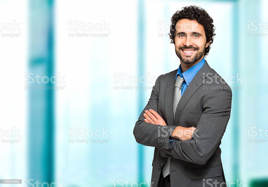 Freundliche männliche manager Porträt – Foto