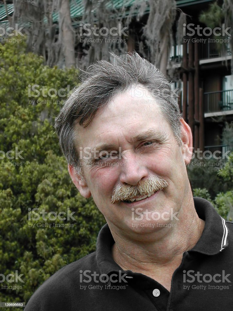Friendly Man stock photo