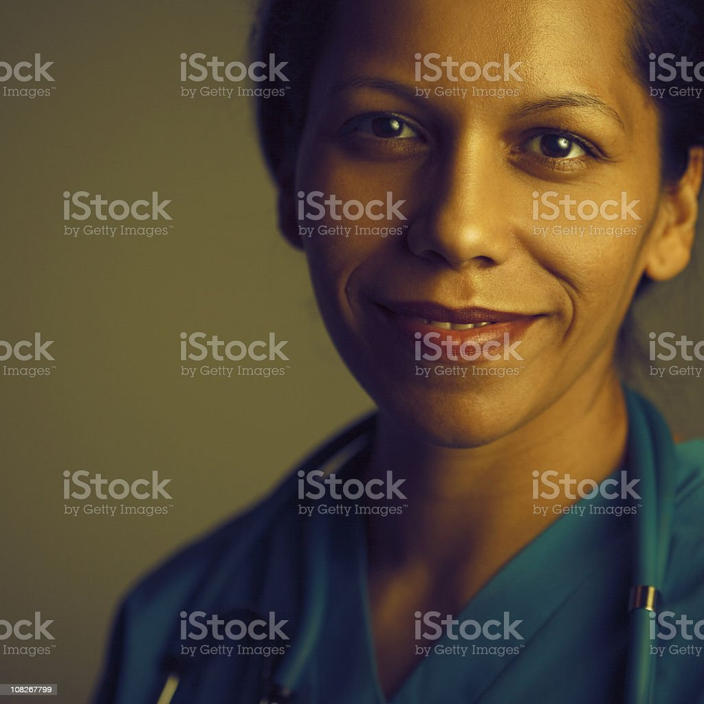 friendly medical staff royalty-free stock photo