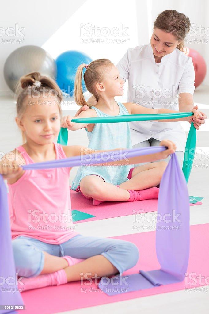 Friendly rehabilitation facility for children foto royalty-free