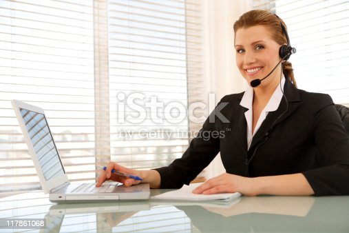 istock Friendly Service 117861068