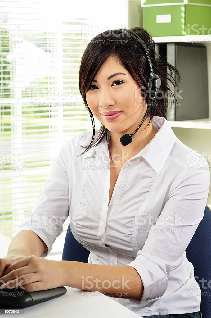 Friendly Service  Adult Stock Photo