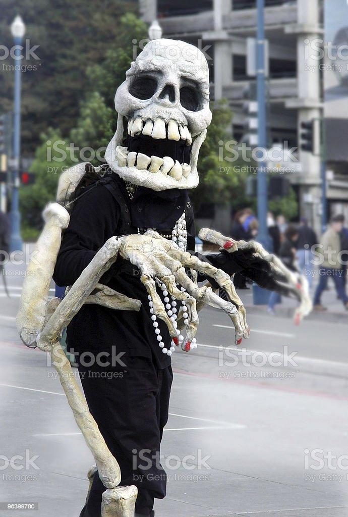 Friendly skeleton royalty-free stock photo