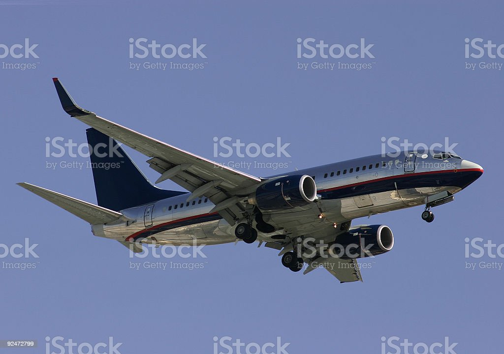 Friendly Skies royalty-free stock photo