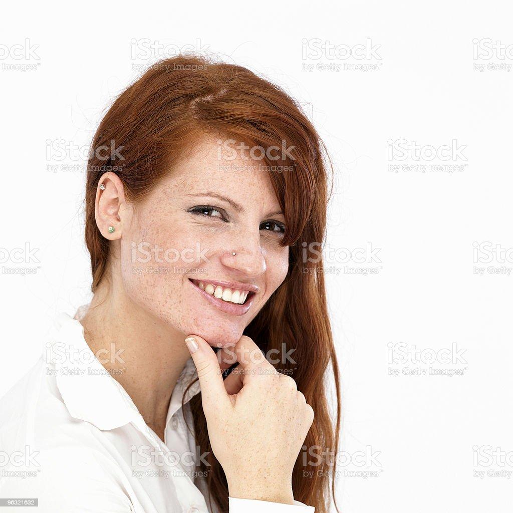 Friendly Smile royalty-free stock photo