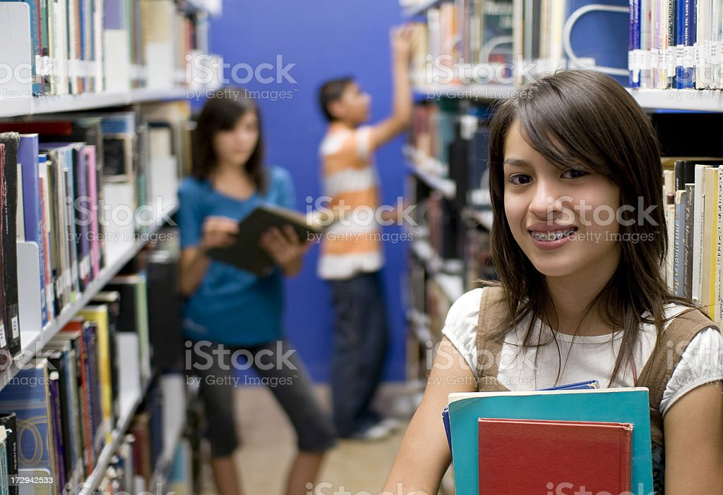 Friendly student royalty-free stock photo