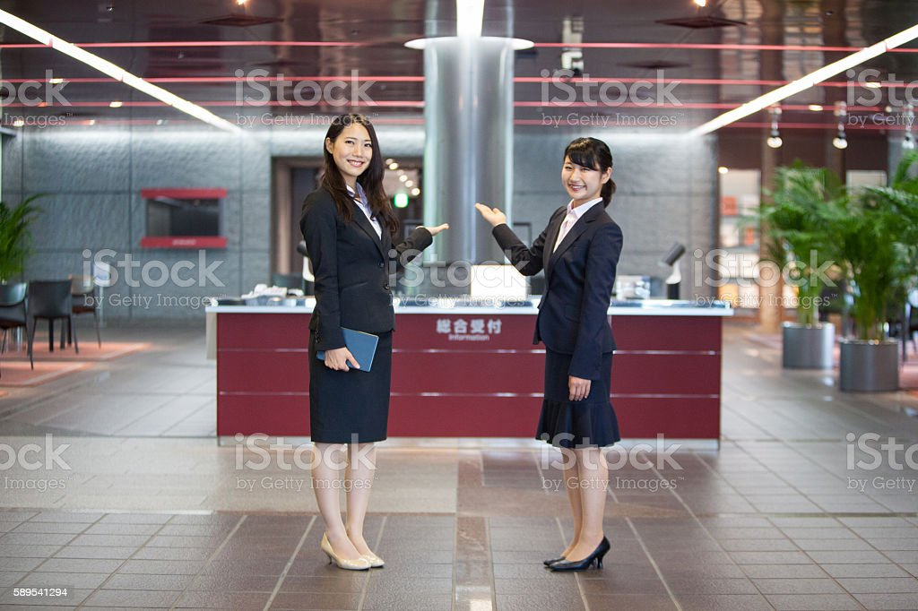 Friendly welcoming for my business travels stock photo
