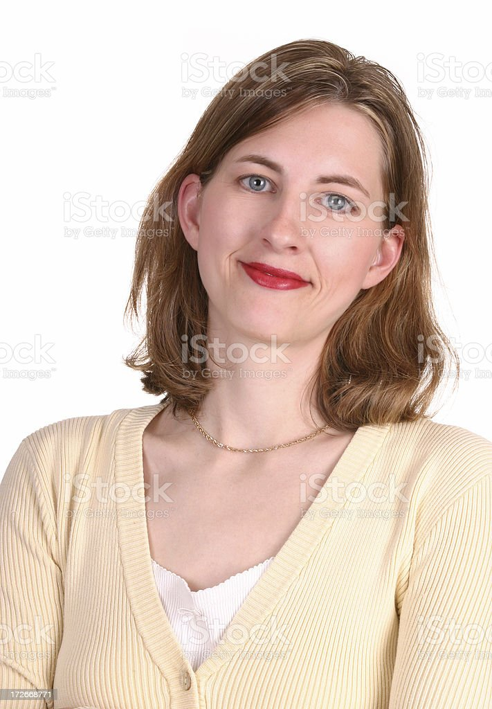 Friendly Woman royalty-free stock photo