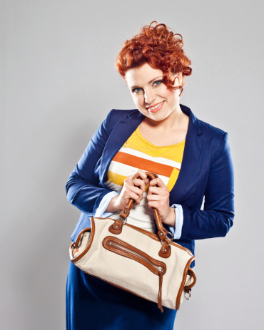 Friendly Young Businesswoman Stock Photo - Download Image Now