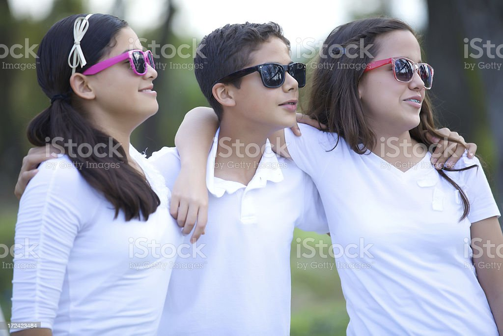 Friends are forever royalty-free stock photo