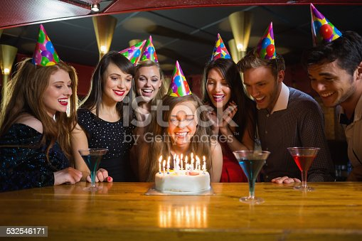 istock Friends celebrating a birthday together 532546171