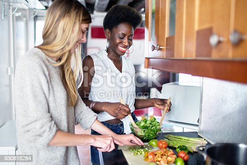 istock Friends Cooking 530815284