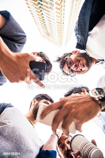 istock Friends enjoying city life 469416384