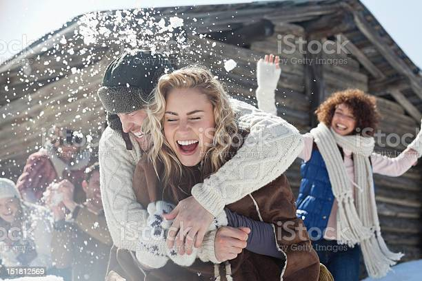 Friends enjoying snowball fight picture id151812569?b=1&k=6&m=151812569&s=612x612&h=0xipw8ma0kzxavwsmyg6xdrkfq0lgzxpsn0hymqjsfa=
