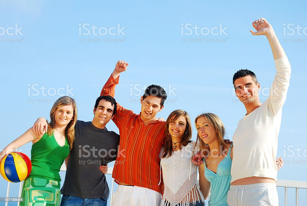 Friends forever royalty-free stock photo