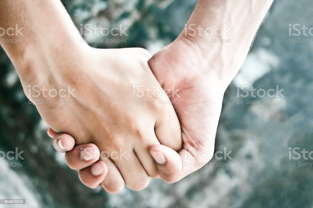 Friends forever. stock photo