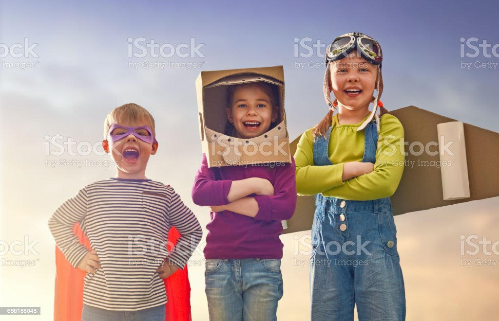 friends games outdoors stock photo