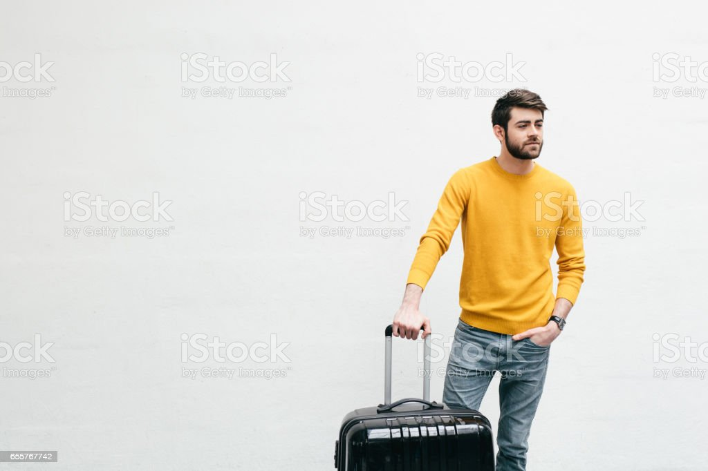 Friends Going Travelling stock photo