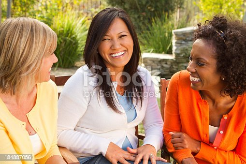 istock Friends Hanging Out 184887056