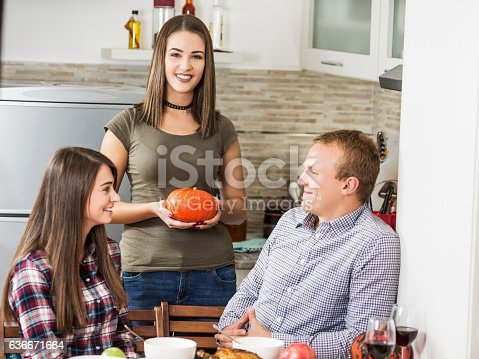 873264516istockphoto Friends having a good time while they preparing a meal 636671664