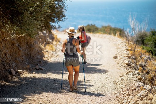 istock Friends Hiking and Exploring Outdoors 1217879529