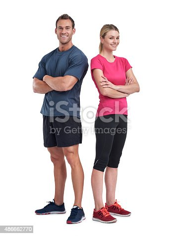 istock Friends in fitness 486662770
