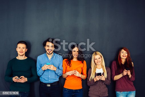 istock Friends in Social Network Concept 539232809