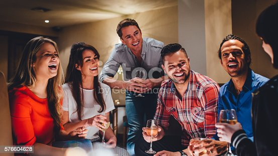 istock Friends Night Out 576604628