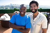 istock Friends on a Rooftop 529069491