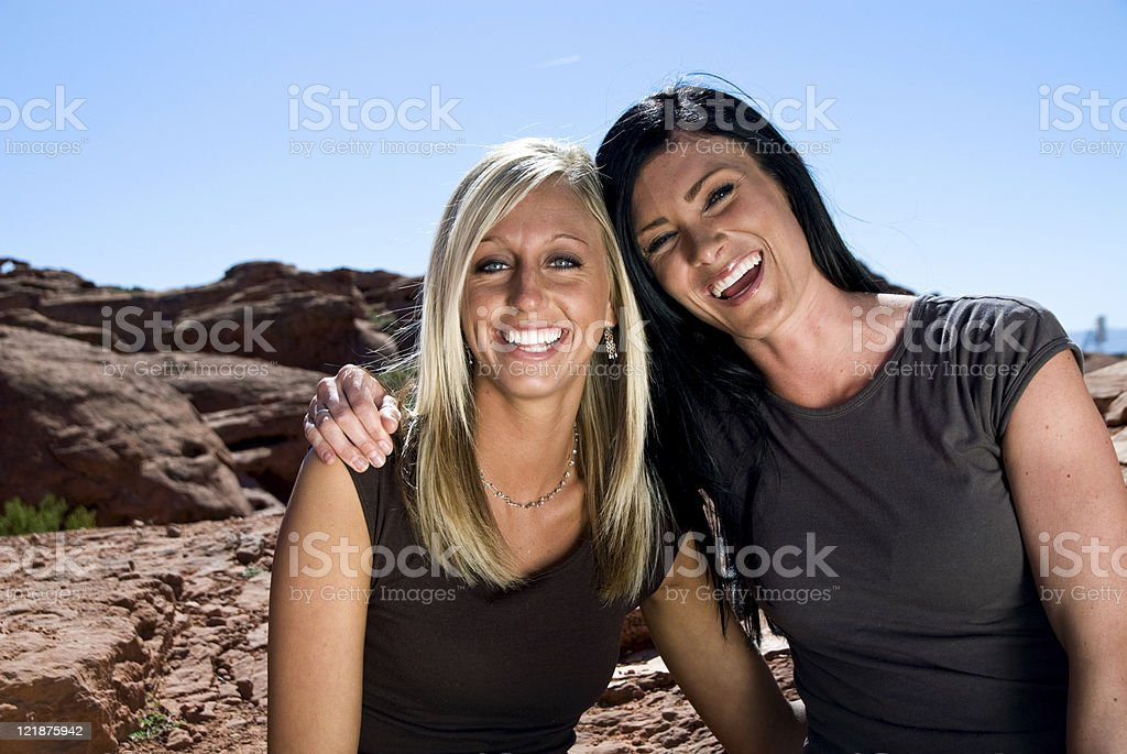 Friends stock photo