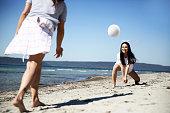 Beach Volleyball, Volleyball - Sport, Sport, Summer, Activity