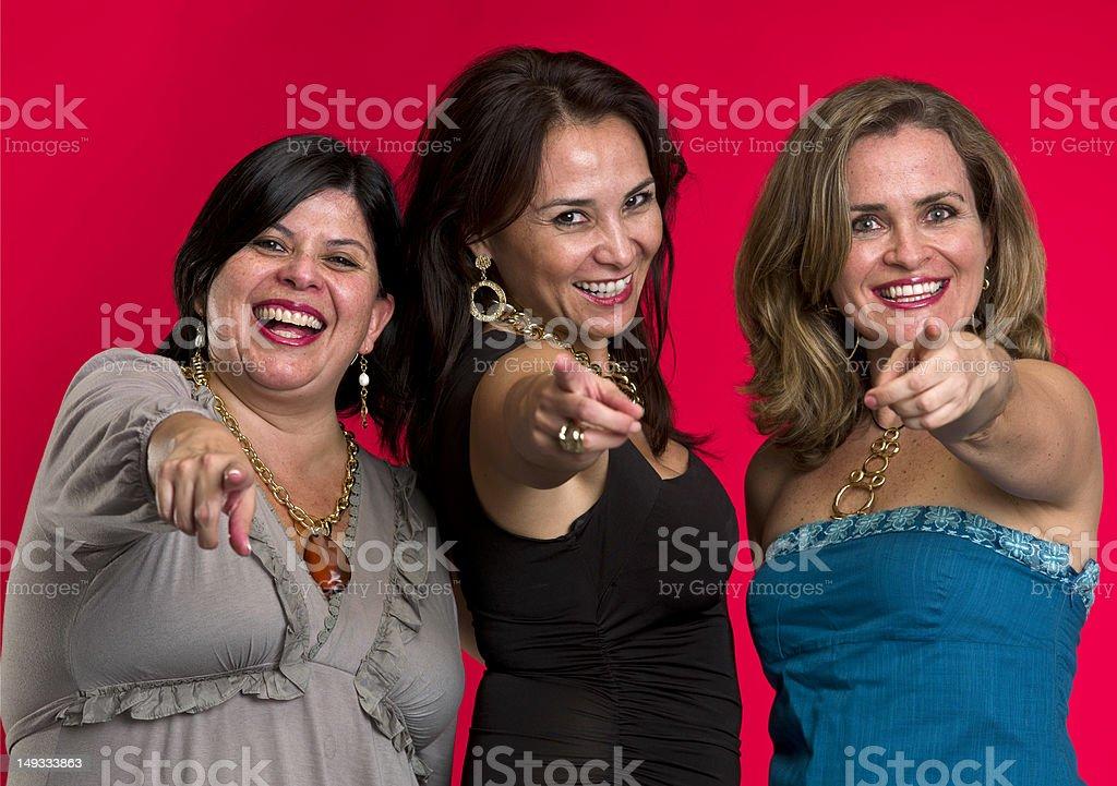 Friends reunion royalty-free stock photo