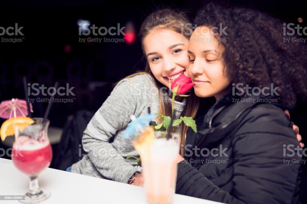 Lesbian flash
