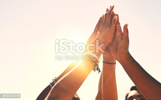 istock Friends stick together! 910422478
