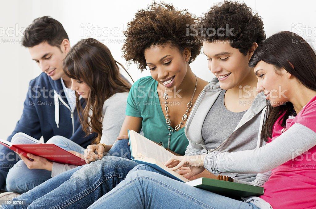 Freunde Zusammen Studieren Stockfoto Und Mehr Bilder Von 16 17