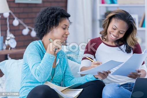 istock Friends studying together 671472996