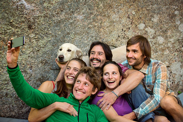 Friends taking selfie with dog against rock picture id537450193?b=1&k=6&m=537450193&s=612x612&w=0&h=jfr2dfqa5mx1k2 5 wf2gm6kx nonzovp5y1q2f6rs0=