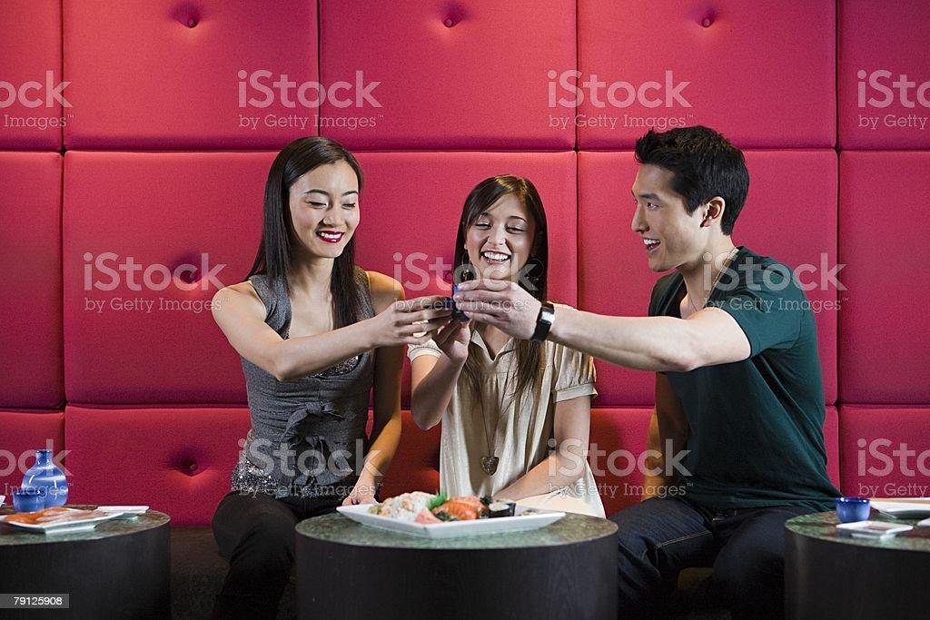 Friends toasting 免版稅 stock photo