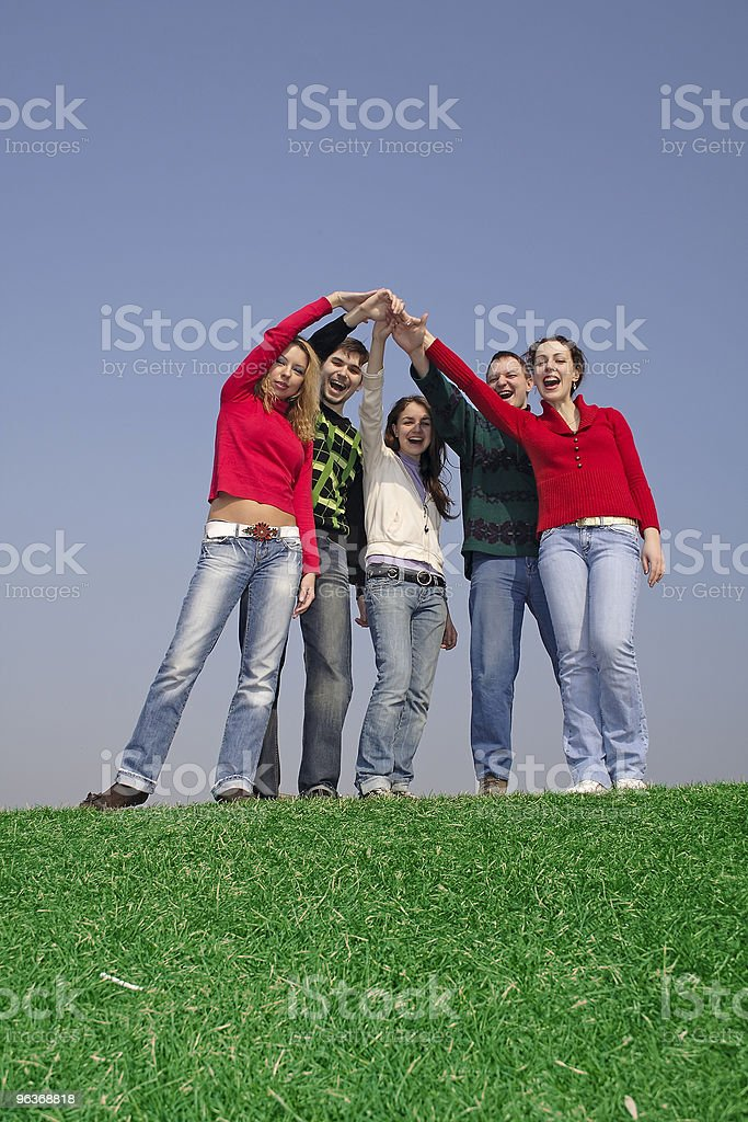 friends together royalty-free stock photo