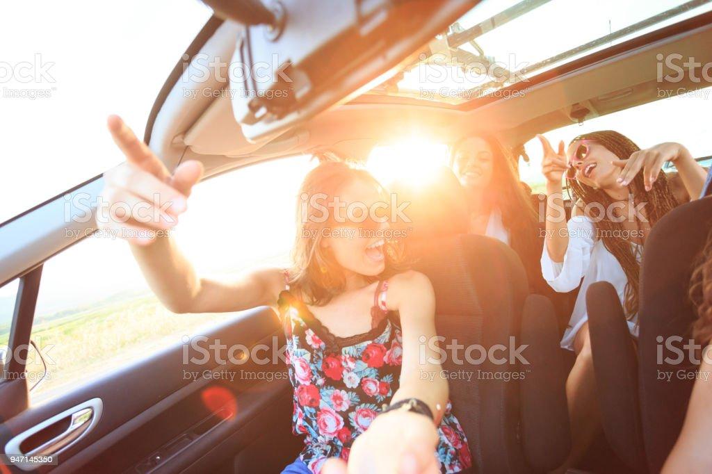 Freunde, Reisen und singen – Foto