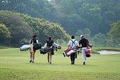 Golf Sport Line Icons