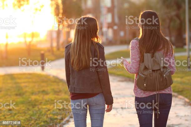 Friends walking together at sunset picture id655721618?b=1&k=6&m=655721618&s=612x612&h= feqf 3gy as0nyibl7fnbimlgcomrwysimvczo eze=
