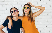 istock Friends with colourful glasses 873004408