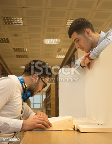 istock Friends working in the course 922106580