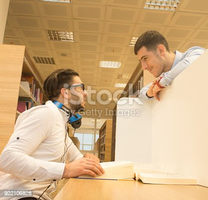 istock Friends working in the course 922106828